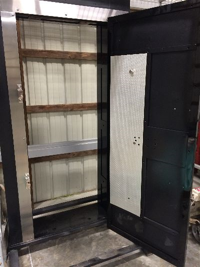 These photos follow one of our doors from beginning to end. - Antique Vault Doors – Frank Zykan Safe & Vault